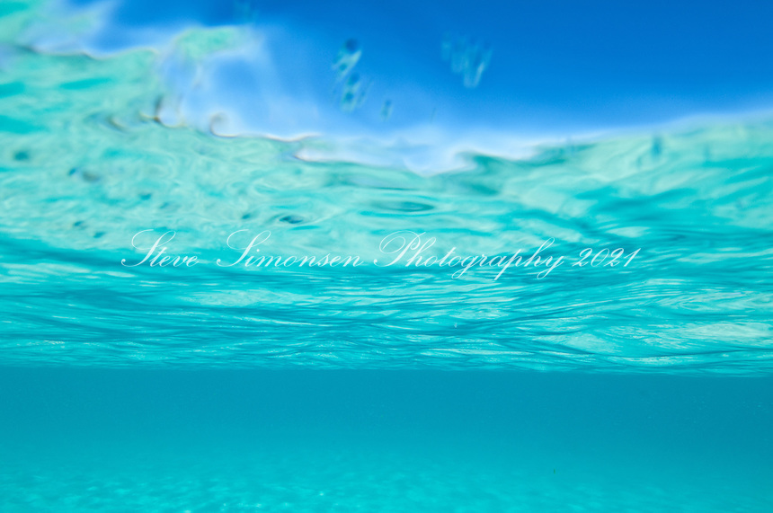 Clear blue Caribbean ocean water Clear turquoise Caribbean water<br /> Trunk Bay<br /> U.S. Virgin Islands