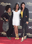 Yvette Nicole Brown, Garcelle Beauvais and Angie Harmon attends The Disney World Premiere of The Jungle Book held at The El Captian theatre  in Hollywood, California on April 04,2016                                                                               © 2016 Hollywood Press Agency