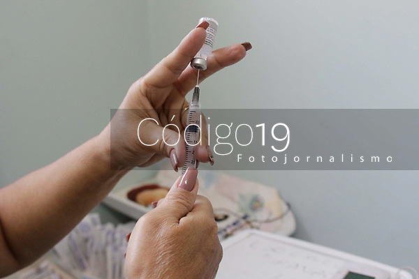 Campinas (SP), 04/09/2021 - Vacinas Covid-19 - Embalagens com as vacinas da Pfizer, AstraZeneca, Coronavac (Butantan) contra a Covid-19, armazenadas na geladeira do CS Eulina, na cidade de Campinas (SP).