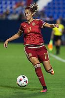 Spain's Olga Garcia during the match of  European Women's Championship 2017 at Leganes, between Spain and Finland. September 20, 2016. (ALTERPHOTOS/Rodrigo Jimenez) NORTEPHOTO