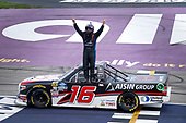#16: Austin Hill, Hattori Racing Enterprises, Toyota Tundra Hino, AISIN Group