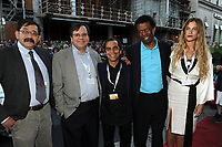 Montreal mayor Denis Coderre attend  the opening movie of the World Film Festival, MUHAMMAD by Iranian filmmaker , Majid majidi<br /> august 27, 2015 at Imperial cinema<br /> <br /> Photo :  Agence Quebec Presse