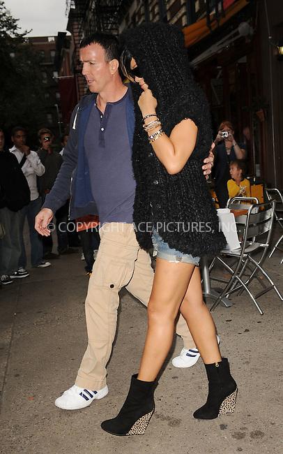 WWW.ACEPIXS.COM . . . . . ....September 16 2009, New York City....Singer Rihanna seen leaving Da Silvano in Soho on September 16 2009 in New York City....Please byline: KRISTIN CALLAHAN - ACEPIXS.COM.. . . . . . ..Ace Pictures, Inc:  ..tel: (212) 243 8787 or (646) 769 0430..e-mail: info@acepixs.com..web: http://www.acepixs.com