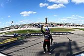 NASCAR XFINITY Series<br /> U.S. Cellular 250<br /> Iowa Speedway, Newton, IA USA<br /> Saturday 29 July 2017<br /> Ryan Preece, MoHawk Northeast Inc. Toyota Camry celebrates his win <br /> World Copyright: Russell LaBounty<br /> LAT Images