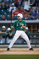 Derek Gallello (41) of the Charlotte 49ers at bat against the Georgia Bulldogs at BB&T Ballpark on March 8, 2016 in Charlotte, North Carolina. The 49ers defeated the Bulldogs 15-4. (Brian Westerholt/Four Seam Images)