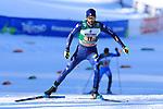 FIS Nordic Combined Men Team Sprint NH/2x7.5km Ski World Cup in Lago di Tesero, Italy on January 16, 2021, Raffaele Buzzi (ITA)