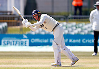Matt Milnes bats for Kent during Kent CCC vs Lancashire CCC, LV Insurance County Championship Group 3 Cricket at The Spitfire Ground on 24th April 2021