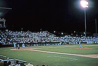 Ballparks: San Antonio Municipal Stadium--night game, 1996.
