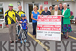 Get your bikes ready for the Castleisland Day Care Cycle taking place on Sunday, September 7th. <br /> Front L-R David Costello, Jack Breen and Marcus Cronin (Currow Cycling Club) <br /> Middle L-R Marcella Finn (Nurse Manger of Castleisland Day Care Centre), Patrick McKenna, Michael Daly and Monica Prendiville. <br /> Back L-R Donal Nelligan, Maria McCarthy and John Breen (Currow Cycling Club).