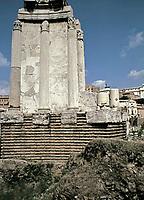 Temple of Vesta, Roman Forum, Rome Italy