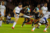 George Ford of Bath Rugby clears his line