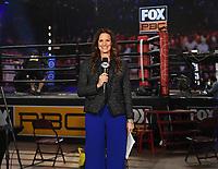 LOS ANGELES - JANUARY 30: Heidi Androl on Fox Sports PBC fight night at the Shrine Auditorium and Expo Hall in Los Angeles, California on January 30, 2021. (Photo by Frank Micelotta/Fox Sports)