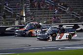 #51: Spencer Davis, Kyle Busch Motorsports, Toyota Tundra JBL/SiriusXM, #7: Korbin Forrister, All Out Motorsports, Toyota Tundra Now Matters More