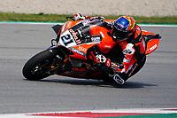 31st  March 2021; Barcelona, Spain; World Superbike testing at Circuit Barcelona-Catalunya;   Michael Ruben Rinaldi (ITA) riding Ducati Panigale V4 R for Aruba.IT Racing - Ducati