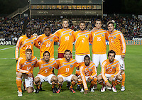 Houston Dynamo Starting Eleven. The Houston Dynamo defeated the San Jose Earthquakes 1-0 at Buck Shaw Stadium in Santa Clara, California on October 16th, 2010.