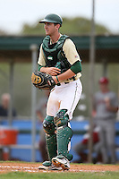 February 22, 2009:  Catcher Daniel Rockhold (30) of the University of South Florida during the Big East-Big Ten Challenge at Naimoli Complex in St. Petersburg, FL.  Photo by:  Mike Janes/Four Seam Images