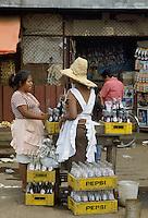 - women at the market in Masaya town....- donne al mercato nella città di Masaya