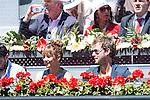 Spanish actress Mariam Hernandez during Mutua Madrid Open Tennis 2016 in Madrid. May 2, 2016. (ALTERPHOTOS/BorjaB.Hojas)