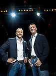 Lorenzo Fertitta (left) and his brother Frank Fertitta III, of Station Casinos, Inc. and Ultimate Fighting Championship photographed for Forbes Magazine at the Octagon at Mandalay Bay in Las Vegas.