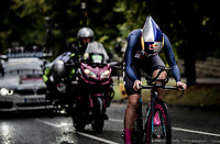 Evantual winner & new TT World Champion Chloe Dygert (USA)<br /> Elite Women Individual Time Trial<br /> <br /> 2019 Road World Championships Yorkshire (GBR)<br /> <br /> ©kramon