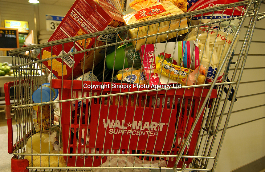 A shopping trolley at a Wal-mart superstore in the center of Kunming, capital of Yunnan Province, China. An Introduction to Wal-Mart. In 1996, Wal-Mart entered the Chinese market nowadays operate 45 units in 21 cities across the mainland..08 Jul 2005