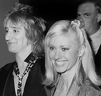 Rod Stewart Olivia Newton John 1979 Photo By John Barrett/PHOTOlink
