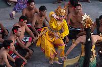 Bali, Indonesia.  Kecak Dance, Arena adjacent to Uluwatu Temple.