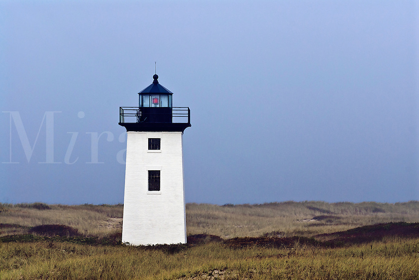 Wood End Lighthouse, Long Point, Provincetown, Cape Cod, Massachusetts, USA.