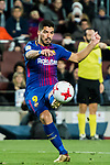 Luis Alberto Suarez Diaz (R) of FC Barcelona in action during the Copa Del Rey 2017-18 Round of 16 (2nd leg) match between FC Barcelona and RC Celta de Vigo at Camp Nou on 11 January 2018 in Barcelona, Spain. Photo by Vicens Gimenez / Power Sport Images