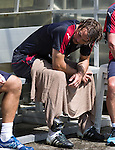 Niko Kranjcar exhausted after training