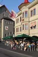 Haus zur Zimmerleuten am Limmatquai, Zürich, Schweiz