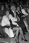 PAOLO E MAURA VILLAGGIO CON ADOLFO CELI<br /> TEATRO SISTINA ROMA 1973
