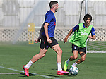 Atletico de Madrid's Saul Niguez (l) and Joao Felix during training session. May 23,2020.(ALTERPHOTOS/Atletico de Madrid/Pool)