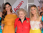 """Odette Yustman,Betty White and Kristen Bell  at The Touchstone Pictures' World Premiere of """"You Again"""" held at The El Capitan Theatre in Hollywood, California on September 22,2010                                                                               © 2010 Hollywood Press Agency"""
