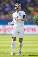 Frank Lampard of England shouts