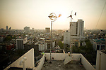 The top of the Alternative Energy promotion center in Bangkok Thailand.