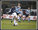25/1/03       Copyright Pic : James Stewart                  .File Name : stewart-falkirk v hearts 03.OWEN COYLE SCORES FALKIRK'S SECOND GOAL......James Stewart Photo Agency, 19 Carronlea Drive, Falkirk. FK2 8DN      Vat Reg No. 607 6932 25.Office : +44 (0)1324 570906     .Mobile : + 44 (0)7721 416997.Fax     :  +44 (0)1324 570906.E-mail : jim@jspa.co.uk.If you require further information then contact Jim Stewart on any of the numbers above.........