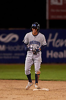 Lake County Captains shortstop Tyler Freeman (7) during a Midwest League game against the Beloit Snappers at Pohlman Field on May 6, 2019 in Beloit, Wisconsin. Lake County defeated Beloit 9-1. (Zachary Lucy/Four Seam Images)