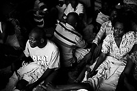 Port Au Prince, Haiti, Jan 18 2010.A truck ferries wounded victims  of the earthquake to an Israeli Army field hospital..