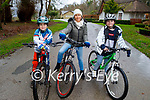 Enjoying a cycle in the Killarney National park on Friday, l to r: Sam, Lisa and Ada O'Leary