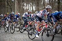 Jasper Stuyven (BEL/Trek-Segafredo)<br /> <br /> 61st Brabantse Pijl 2021 (1.Pro)<br /> 1 day race from Leuven to Overijse (BEL/202km)<br /> <br /> ©kramon