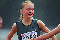 Isabella Richardson (St Cuthbert's College) after the senior girls' 1500m final. 2019 New Zealand Secondary Schools Athletics Championships at Newtown Park in Wellington, New Zealand on Sunday, 8 December 2019. Photo: Dave Lintott / lintottphoto.co.nz