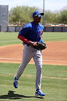 Ismael Mena - Chicago Cubs 2021 spring training (Bill Mitchell)