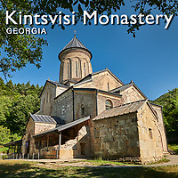 Pictures & Images of Kintsvisi Georgia, Eastern Orthodox Monastery & Church -