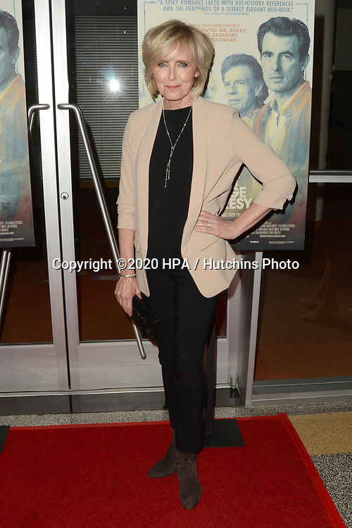 "LOS ANGELES - MAR 2:  Annica Liljeblad at the ""The Burnt Orange Heresy"" Special Screening at the Linwood Dunn Theater on March 2, 2020 in Los Angeles, CA"