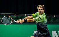 Rotterdam, The Netherlands, 28 Februari 2021, ABNAMRO World Tennis Tournament, Ahoy, Qualyfying match:  Cameron Norrie (GBR)  <br /> Photo: www.tennisimages.com/henkkoster