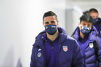 WIENER NEUSTADT, AUSTRIA - NOVEMBER 16: Sebastian Lletget #17 of the United States before a game between Panama and USMNT at Stadion Wiener Neustadt on November 16, 2020 in Wiener Neustadt, Austria.