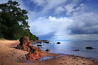 SC  -Prov. INVERNESS-SHIRE<br /> Black Isle - Red sands of Rosemarkie Beach<br /> <br /> Full size: 61,4 MB