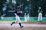 #5 Hiruta Natsuki of Japan runs after bating during the BFA Women's Baseball Asian Cup match between Pakistan and Japan at Sai Tso Wan Recreation Ground on September 4, 2017 in Hong Kong. Photo by Marcio Rodrigo Machado / Power Sport Images