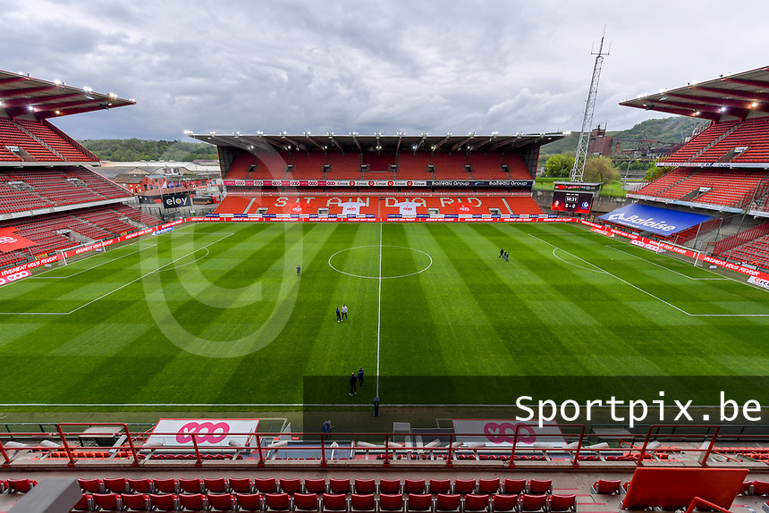 Stade Maurice Dufrasne - Sclessin taken before a female soccer game between Standard Femina de Liege and AA Gent Ladies on the 6th matchday in play off 1 of the 2020 - 2021 season of Belgian Scooore Womens Super League , tuesday 11 th of May 2021 in Liege , Belgium . PHOTO SPORTPIX.BE | SPP | STIJN AUDOOREN